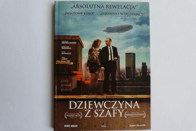 Dziewczyna z szafy - film DVD oraz książka
