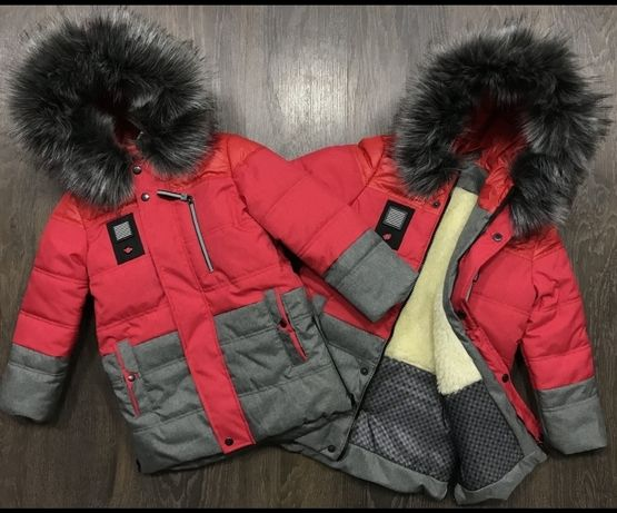Крутая курточка-парка для самых стильных мальчиков.