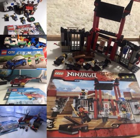 LEGO City,LEGO ninjago,LEGO Creator каждый по 299 грн