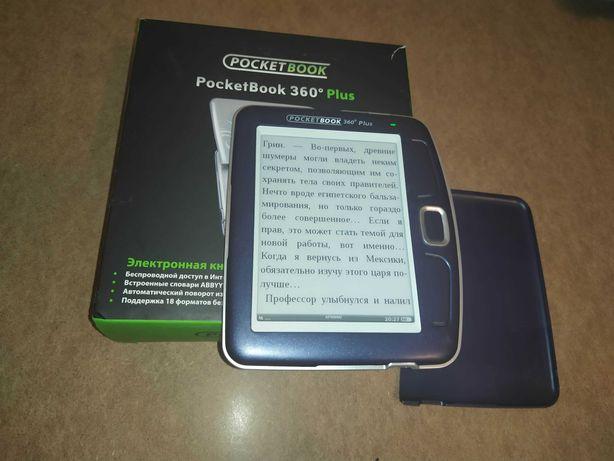 Електрона книга PocketBook 360 plus читає 12 форматів книг,  (резерв)