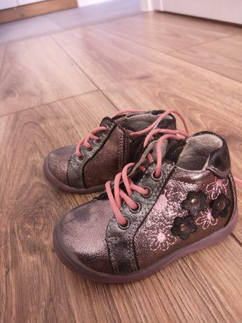 Półbuty na zamek skórzane, adidasy, buty, trzewiki, buciki r. 19 12 cm