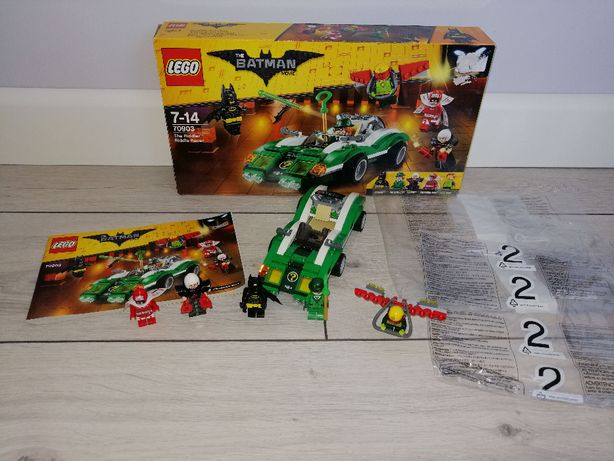 Lego Batman 70903 Wyścigówka Riddlera. OPIS.