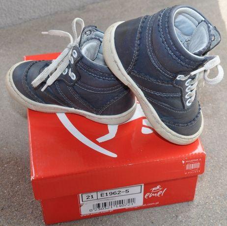 EMEL R.21 Roczki- skórzane trzewiki,trampki, półbuty świetne sneakersy