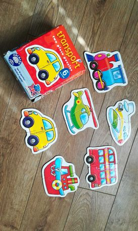 Puzzle dla maluszkow transport Orchard Toys