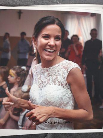 Piękna suknia ślubna salon Jooana Bachowice