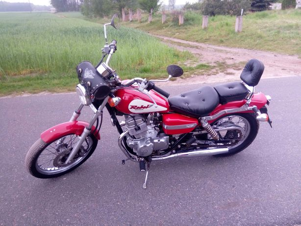 Honda rebel 125 kategorii b 15 tyś km