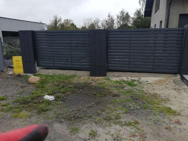 Słupki betonowe ala klinkier PRODUCENT