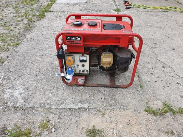 Agregat prądotwórczy z prostownikiem Makita. 1.6KW