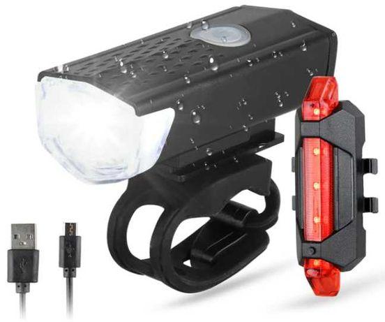 Lanterna LED para Bicicleta e Luz Traseira