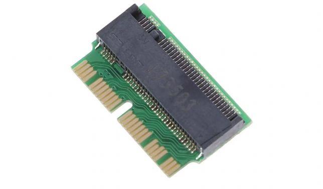 M2 M Key PCI to 12+16Pin AHCI SSD Adaptador