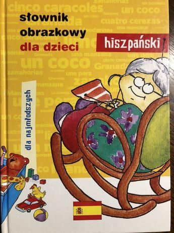 Słownik obrazkowy języka hiszpańskiego dla dzieci