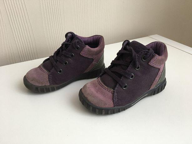 Buciki ECCO r 22 trzewiki dziewczęce skórzane botki półbuty buty geox