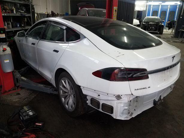 Запасти, Tesla, Model, S, разборка, крыло, бампер