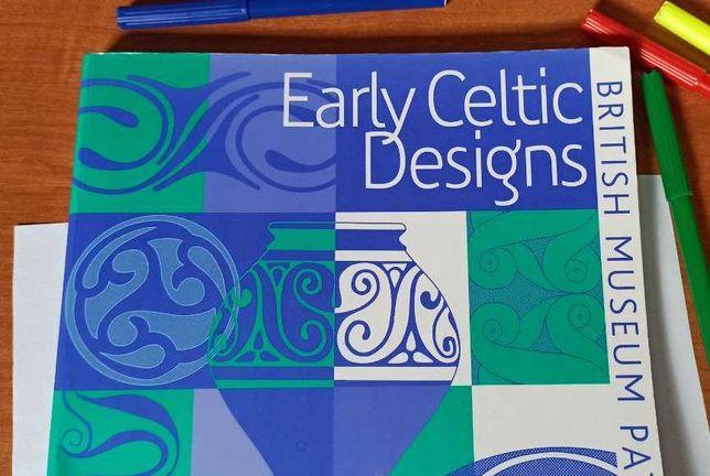 Ранние кельтские орнаменты (выкройки Британского музея) - на англ яз