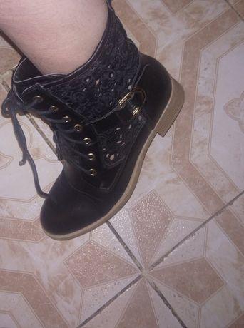 ботинки черные ботинки