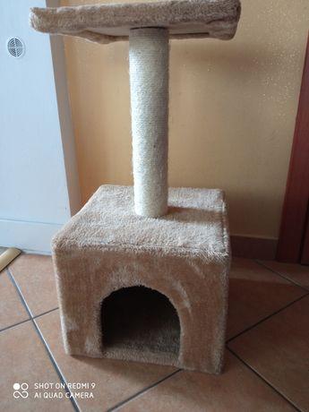 Domek drapak dla kota Rezerwacja