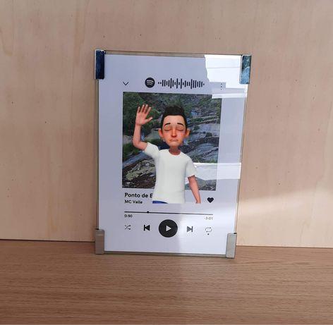 Quadro/placa Spotify