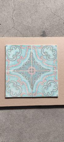 Azulejos 15 cm X 15 cm dos anos 80 - Aleluia