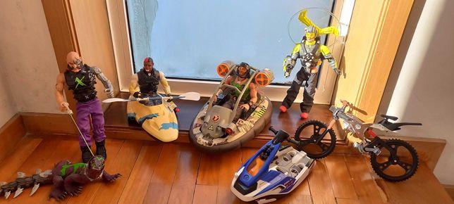 Conjunto veículos e figuras Action man