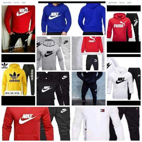 Dresy męskie Tommy Nike Adidas