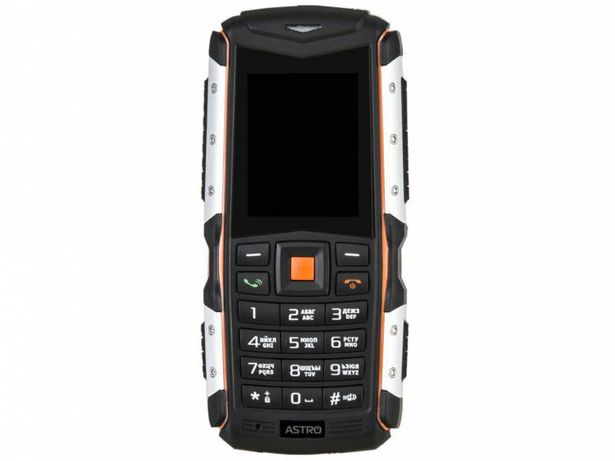 Водонепроницаемый телефон Astro A200 RX Black Orange