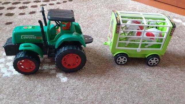 Іграшка Трактор з прицепом