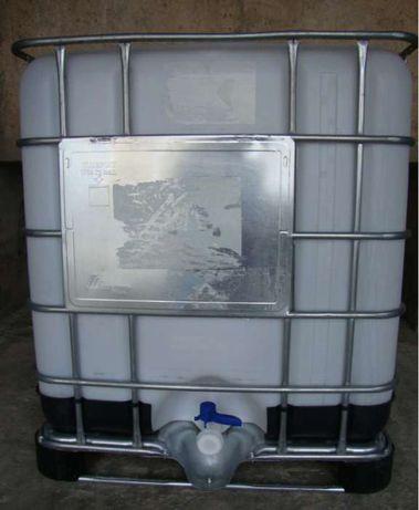 Deposito Reservatorio Cuba IBC 1000 litros com entrega na morada