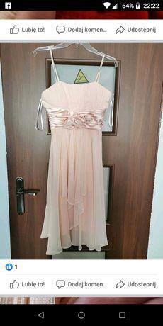 Sprzedam sukienkę rozmiar firmy celo rozmiar 38