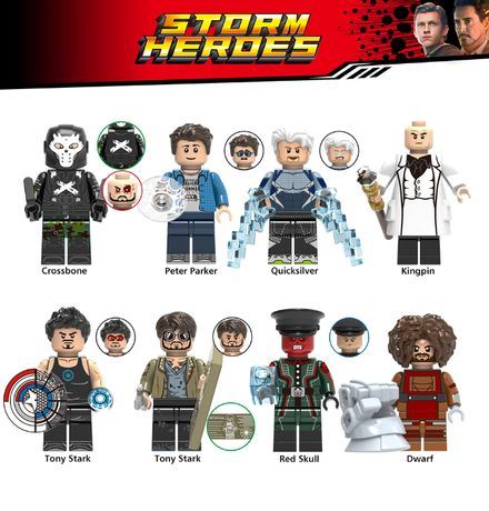 Bonecos / Minifiguras Super Heróis nº172 Marvel (compativeis com lego)
