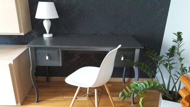 Biurko, toaletka Edland IKEA + krzesło