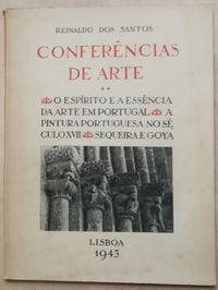 conferências de arte, reinaldo dos santos, lisboa 1943