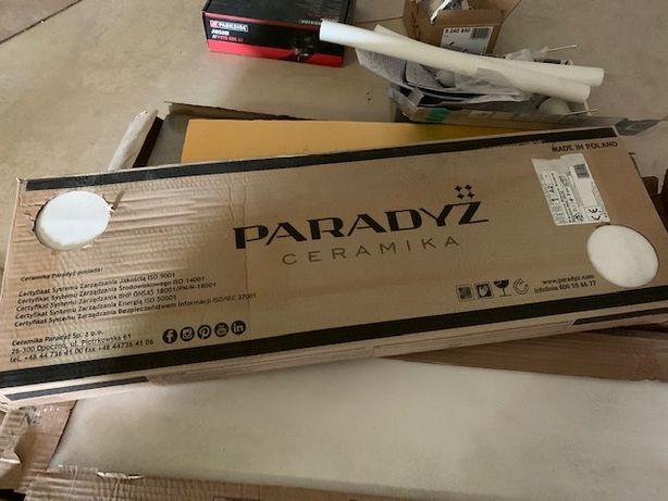 Pandora Bianco Ściana Struktura Rekt. 25x75 Biały PARADYŻ