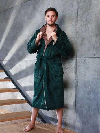 Мужской махровый халат , размеры от 46 до 62