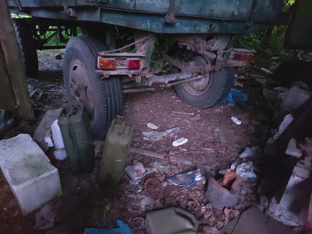 Przyczepa maszyny rolnicze w cenie złomu uzytkowego