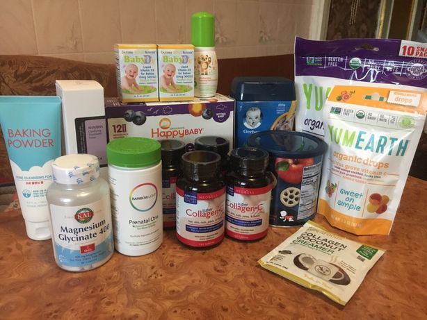 Совместные покупки с Айхерб (Iherb) косметика, еда, витамины, бады