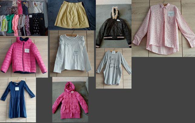 Paka ubrań dla dziewczynki rozm. 146 i 146/152