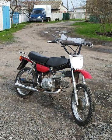 Дельта СССР 110 (Не Альфа, Питбайк, Кросс, Honda cr 80)