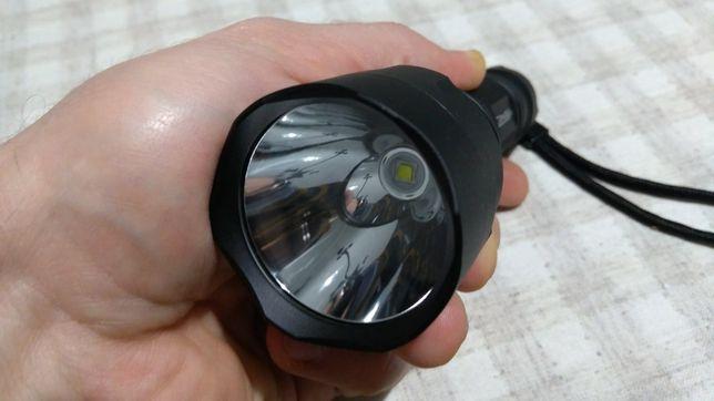 Convoy C8 XML2 T6-4C, U2-1A мощный тактический фонарь 18650 яркий свет