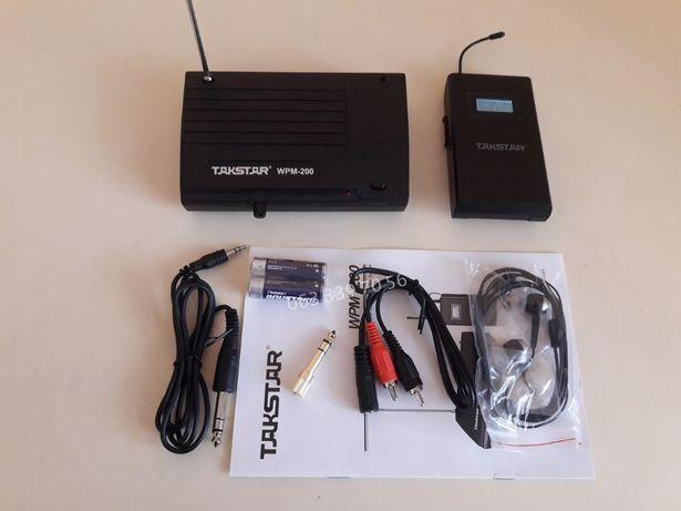Cистема персонального мониторинга InEar Такстар WPM200 -ушные мониторы