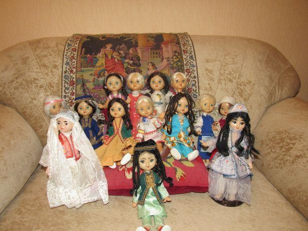 Кукла СССР паричковая. Коллекция из 14-ти кукол.