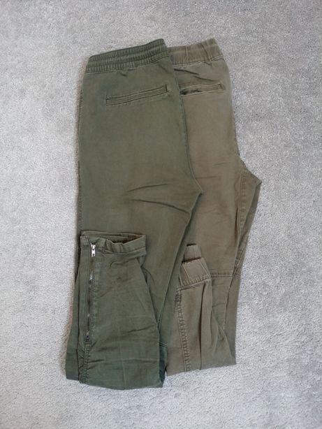 H&M spodnie r. 158 bojówki joggery