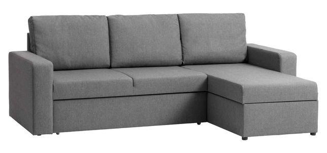 Narożnik sofa kanapa JYSK VILS szary stan BDB