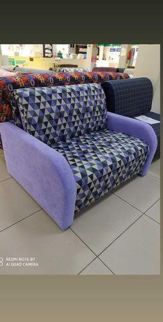 Кресло диван аккордеон 125см