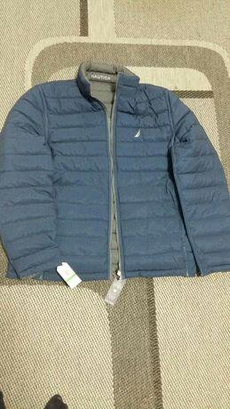 Продам двухсторонний пуховик куртку. Nаutica L