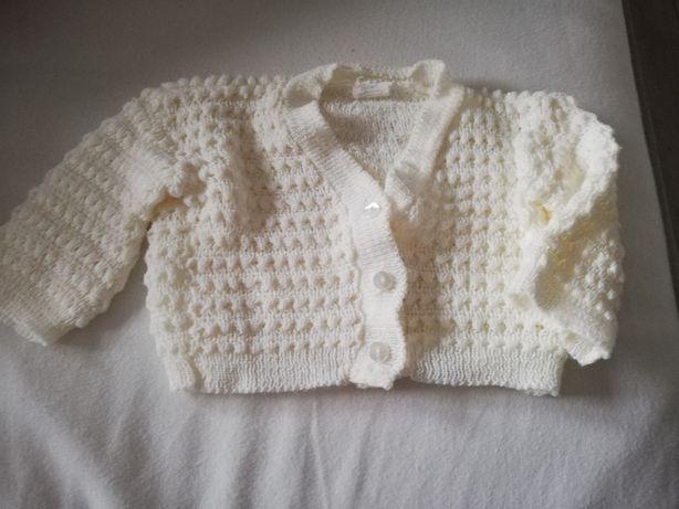 Sweter biały rozmiar 56-62