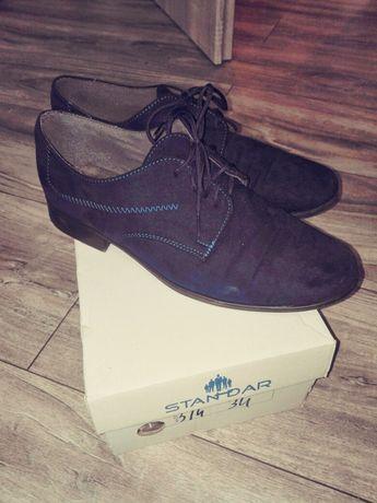 Buty dla chlopca r 34