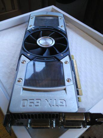 Видеокарта GeForce GTX 690 4GB + HDD 500 GB
