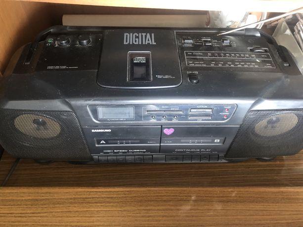 Radio Magnetofon Aiwa Samsung