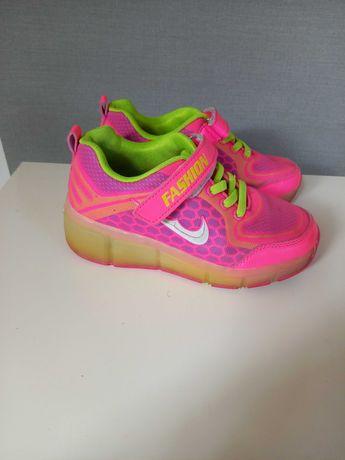 Butorolki Rolki Wrotki Nike LED buty z rolkami