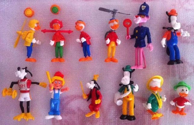 Ovos Kinder - Figuras Variadas (anos 80)